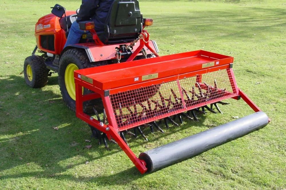 "Mounted Deep Aerator | 60"" D Turf Care System"